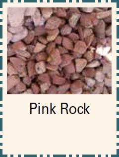 Pink Rock - Bulk Material