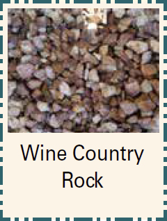 Wine Country Rock - Bulk Material